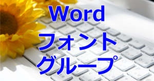 Word/フォントグループ